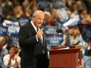Fred Thompson said Barack Obama is unprepared to be president.