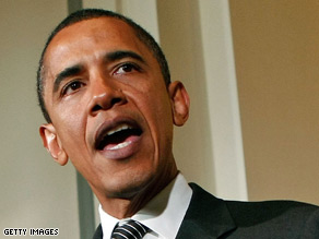 Obama was briefed on topics of national security interest.