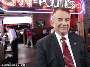 Thompson stopped by the CNN Grill Tuesday.