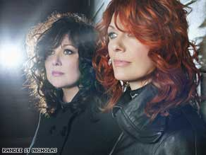 Ann and Nancy Wilson of Heart.