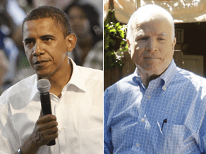 McCain, Obama campaigns released a string of ads Friday.