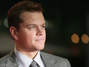 Matt Damon does not approve of Palin.