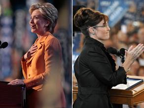Who has more credibility Clinton or Palin?