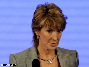 Fiorina said neither McCain or Palin are qualified to run a company.