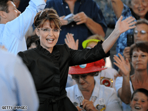 Palin's personal e-mail was reportedly hacked Wednesday.