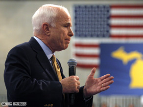 Spanish reporters are questioning some comments McCain made in an interview Tuesday.