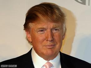 Trump also said Alaska Gov. Sarah Palin had rejuvenated the Republican Party.