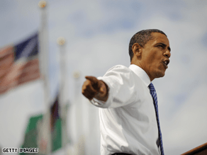 Obama is ahead in two key states, according the latest CNN poll of polls.