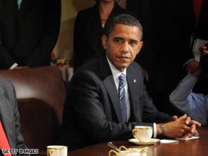 Sen. Obama returned to Washington Thursday to discuss the bailout plan.