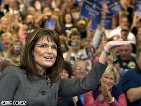 Gov. Palin will embark on a bus tour Sunday through West Virginia