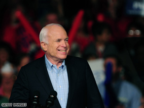 McCain is keeping the race close in Ohio.