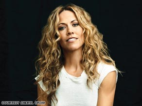 Singer Sheryl Crow says Barack Obama's, 'lofty ideals and inspiring calls to action resonated with all of us.'