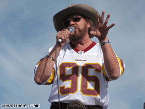 Hank Williams, Jr. is campaigning for McCain.