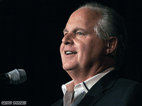 Limbaugh defended his comments about Powell Monday.