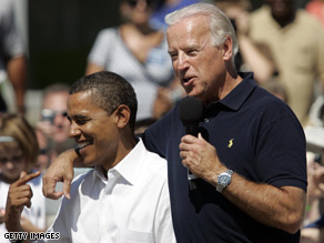 Barack Obama said Biden has engaged 'in rhetorical flourishes'.