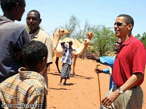 Sen. Obama visited Kenya, his father's birthplace, in 2006. The Associated Press has reported that a paternal aunt of Obama's is living in the U.S. illegally.