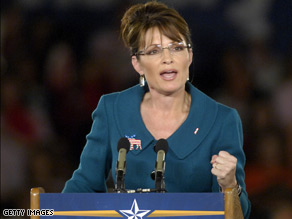 Palin highlighted an interview Obama did in January.