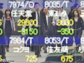Tokyo Stock Exchange.