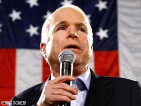 A Republican senator hammered John McCain on Friday.