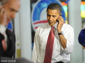 Obama's cell phone records appear to have been breached.
