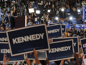 Caroline Kennedy's name is being talked about for Clinton's senate seat.