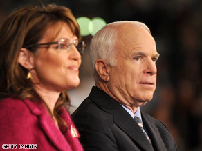 Sen. John McCain says he may not necessary support Gov. Sarah Palin if she she runs in 2012