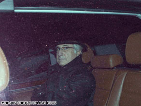 Bernard Madoff leaving his home on Dec. 15, 2008.