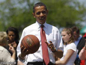 Obama's cabinet will be filled with advisors who share his love of the game.