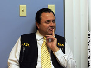 Jose Luis de Jesus Miranda says he is God, and his followers believe him.