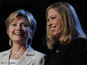 Chelsea Clinton hit the campaign trail for her mother this year.