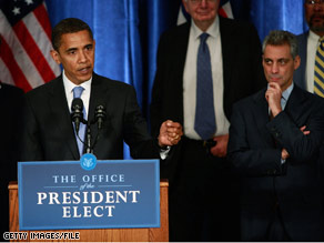 Sources tell CNN that a report to be released by the Obama transition team will exonerate President-elect Obama's aides including Rahm Emanuel pictured in this file photo.