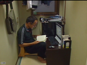 Hidefumi Ito lives in a net room in Japan, a closet-sized space offering him a refuge from homelessness.