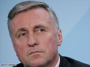 Czech premier Mirek Topolánek currently holds the EU presidency.
