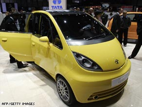 Tata Motors expects to begin delivery of the Nano, billed as the world's cheapest car, in July.
