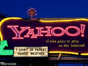Yahoo will turn out the lights for 5 percent of its workforce.