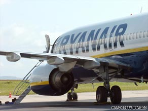 Ryanair's boss says tough times are ahead.