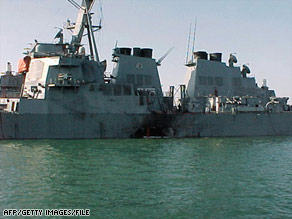 Charges dropped on USS Cole suspect