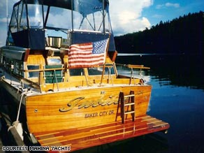 The Jubilee sank in Puget Sound Bay last year.