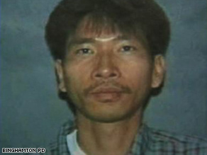 Police say Jiverly Wong killed 13 at a immigration services center in Binghamton before killing himself.