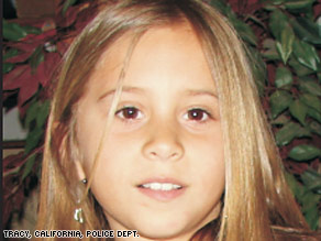 Sandra Cantu, 8, disappeared on March 27. Her body was found at a dairy-farm pond near her Calilfornia home.