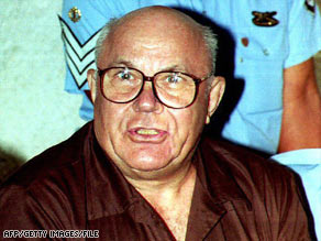 John Demjanjuk was convicted in Israel in 1986 before the ruling was overturned.