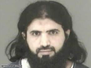 Ali al-Marri, in a 2003 booking photo, was identified as someone helping al Qaeda members entering the U.S.