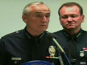 Los Angeles Police Chief William Bratton says Stephanie Lazarus is in custody in a 1986 death.