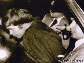 John Hinckley shot President Reagan and wounded three others because of an obsession with actress Jodie Foster.