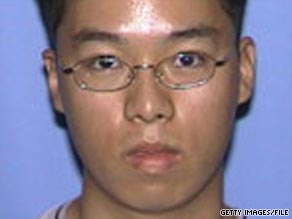 Seung-Hui Cho killed 32 students and faculty members on April 16, 2007, then killed himself.