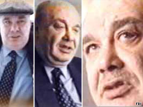 The FBI says Semion Mogilevich has been involved in arms trafficking, prostitution, extortion and murder for hire.