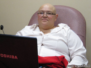 Chritina Aguilar, 28, is being treated for advanced-stage ovarian cancer in Nevada.