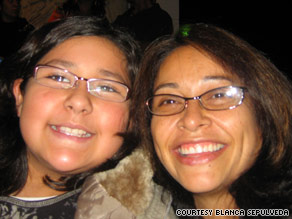 Blanca Sepulveda, right, was devastated when her daughter Frida began showing signs of type 2 diabetes.