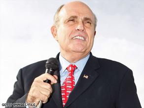Rudy Giuliani says New York needs an advocate in the Senate who also understands America's needs.