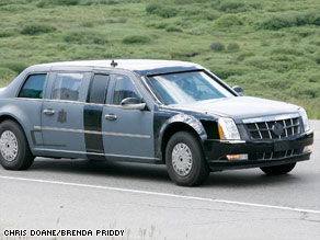 New limo for the President